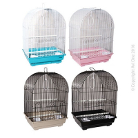 Bird Toy Arc With Wooden Blocks And Beads 34Cm