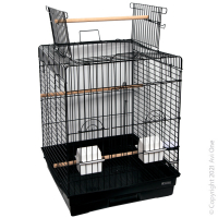 Bird Toy Rattan Balls With Raffia Wooden Beads 34Cm
