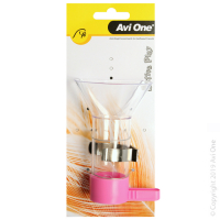 Parrot Toy Wooden Swing with Wheel Large 23.5x12x37.5cm
