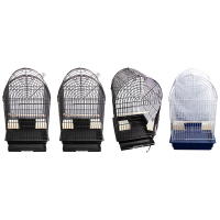 Bird Toy Loofa With Raffia Wooden Beads And Gourd 30Cm