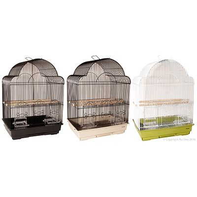 Bird Toy Boxes With Paper With Wooden Beads 37Cm