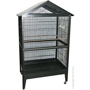 Bird Toy Rattan Balls With Plastic Beads 25Cm