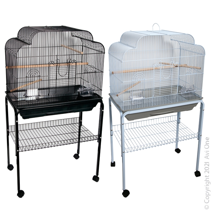Wooden Blocks and Beads Bird Toy 35cm