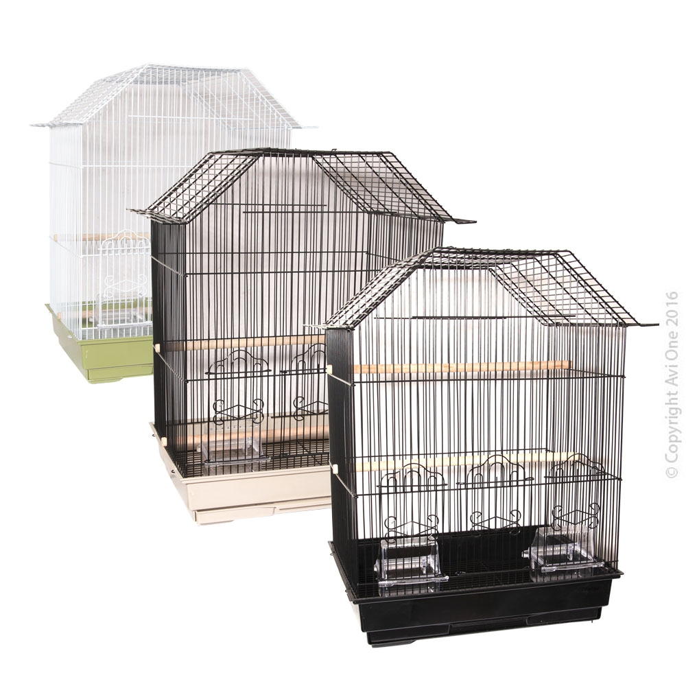 Bird Toy Raffia Pom Pom With Wooden Beads And Sisal Ropes 28Cm